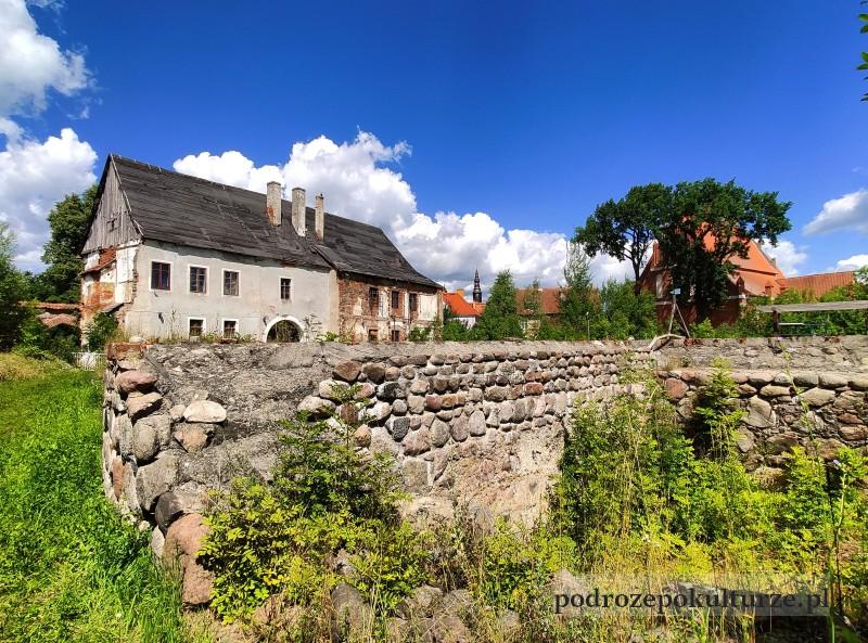 Zamek w Morągu ruiny