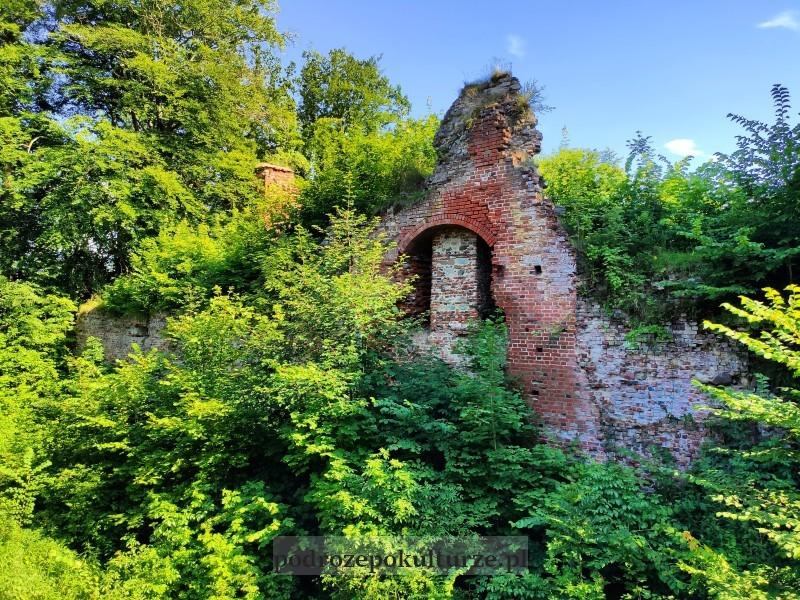 Przezmark zamek krzyżacki ruiny