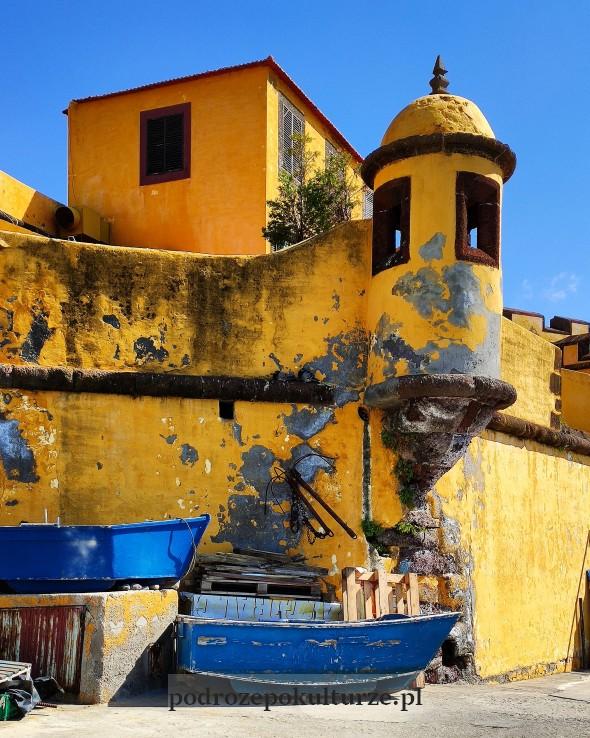 Forte de São Tiago Funchal fort św. Jakuba