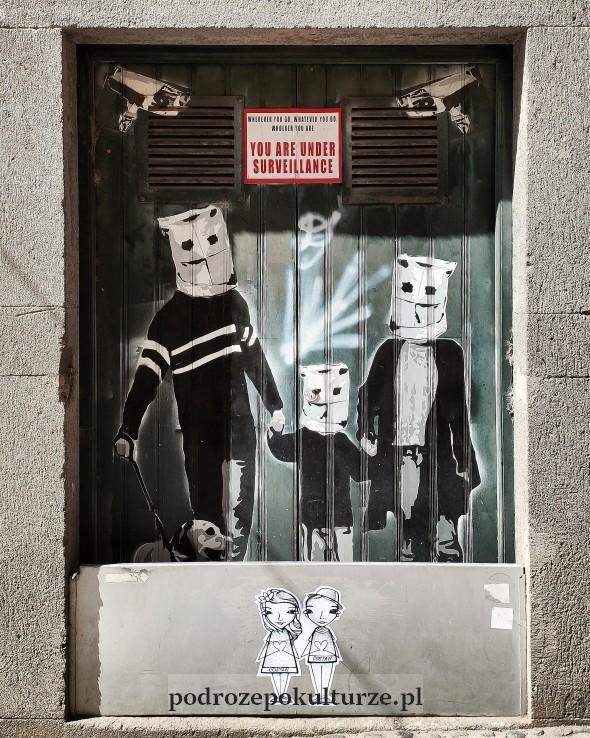 The Art of Open Doors murale street art Funchal