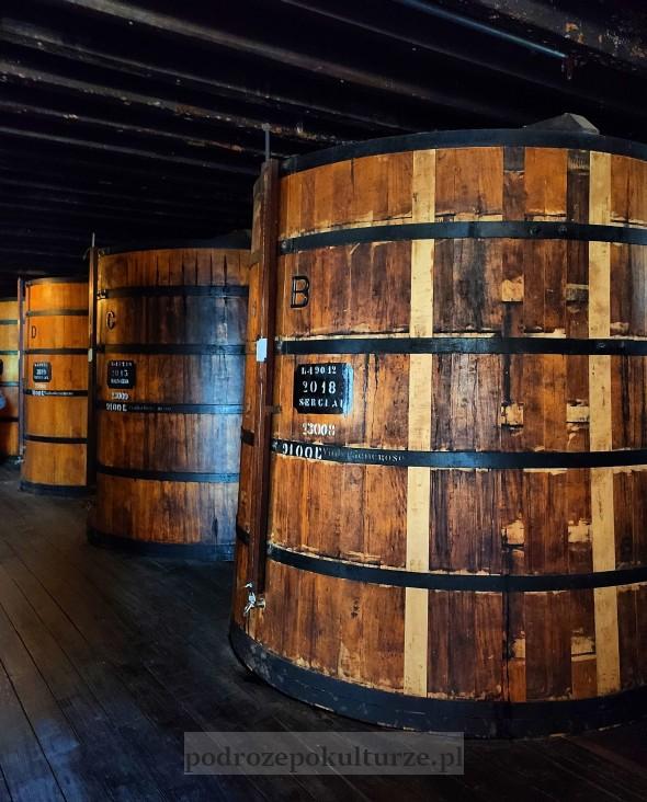 Blandy's Wine Lodge zwiedzanie winnicy w Funchal