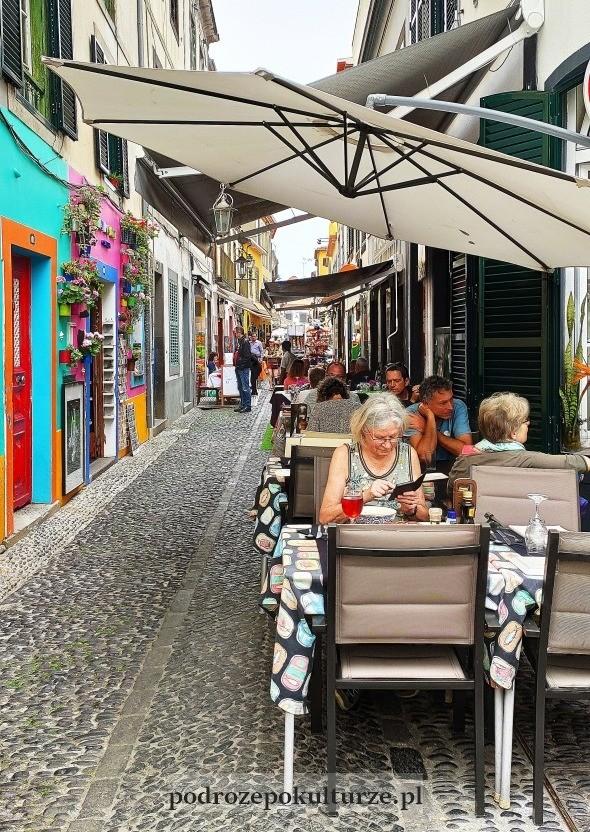 Zona Velha Rua de Santa Maria Funchal