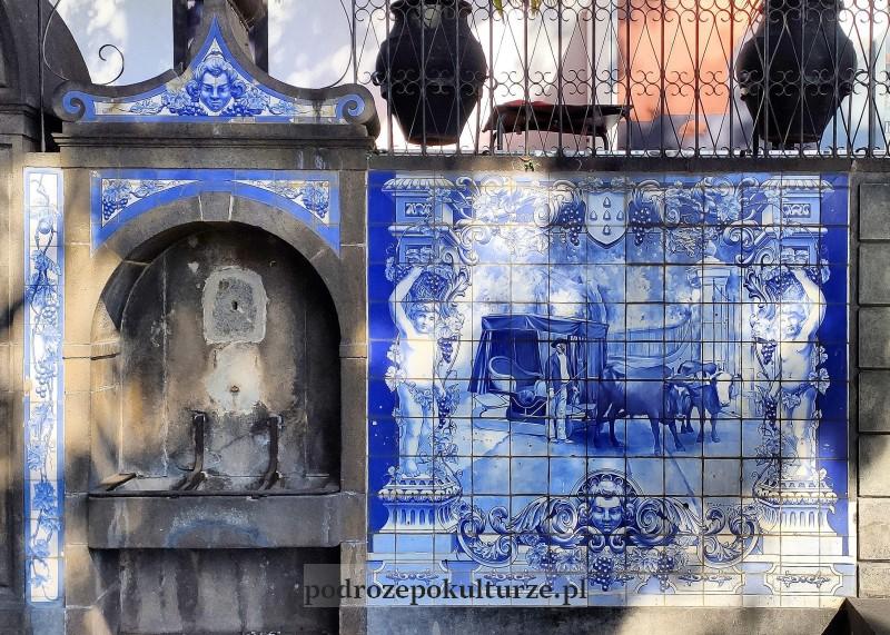Azulejo na Maderze w Funchal