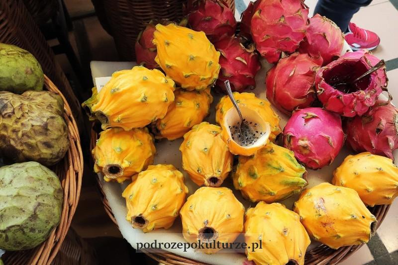 Mercado dos Lavradores Funchal owoce
