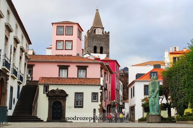Zona Velha Funchal stare miasto