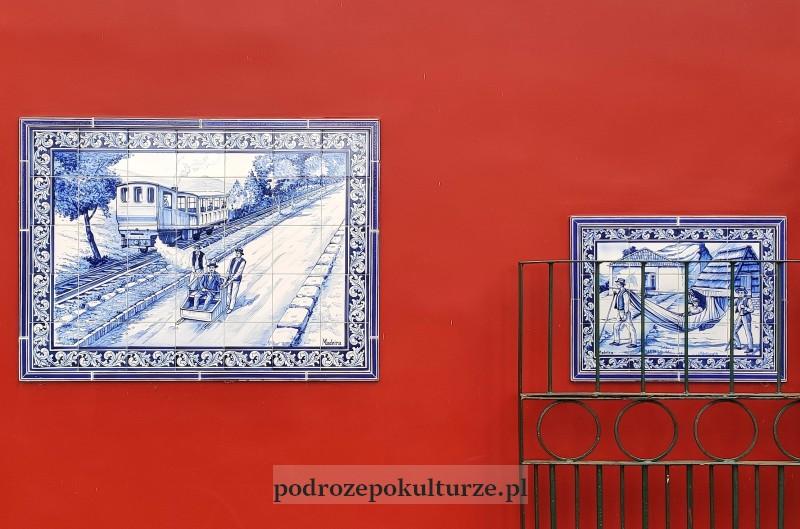 Monte azulejo kolejka zębata