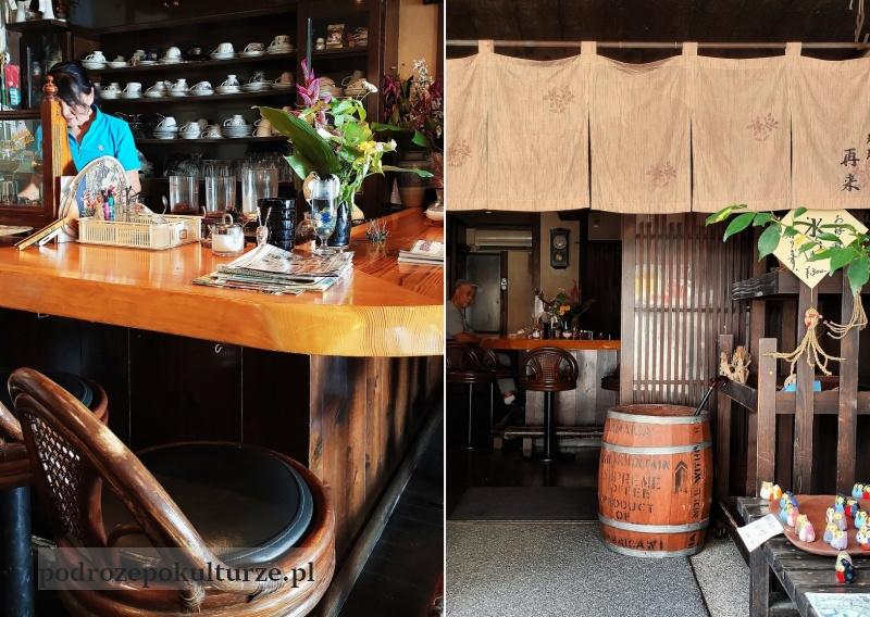 再来 kawiarnia w Japonii