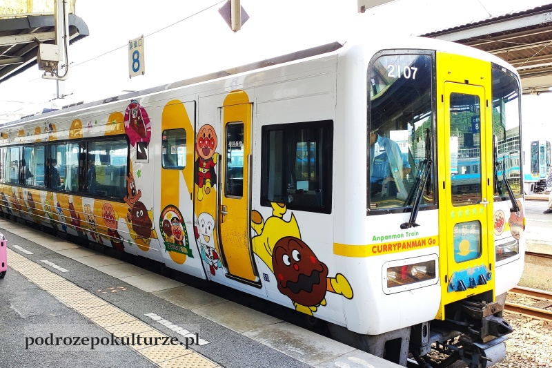 Anpanman train Shikoku