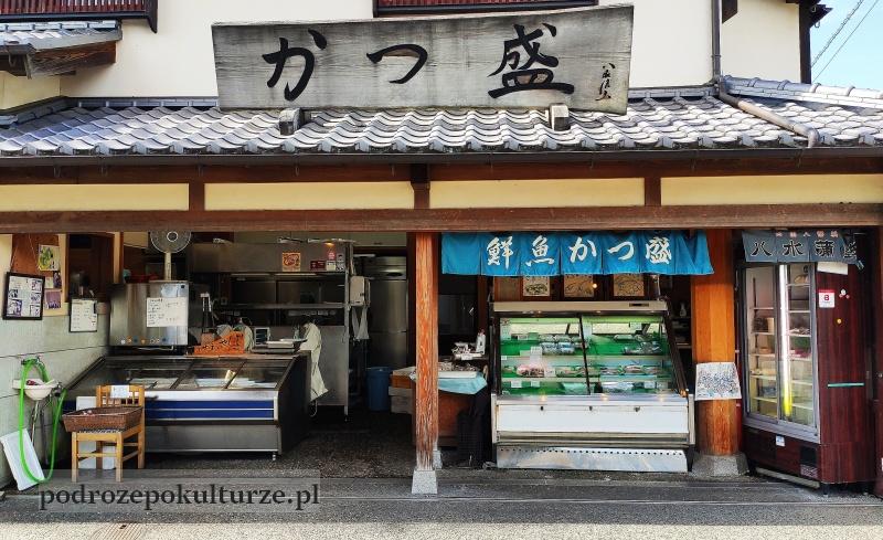 Japonia sklep z rybami