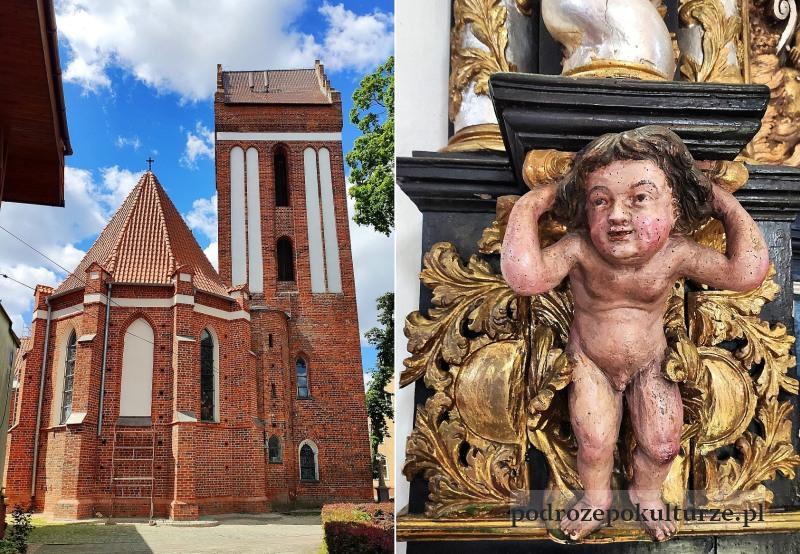 Morąg gotycki kościół