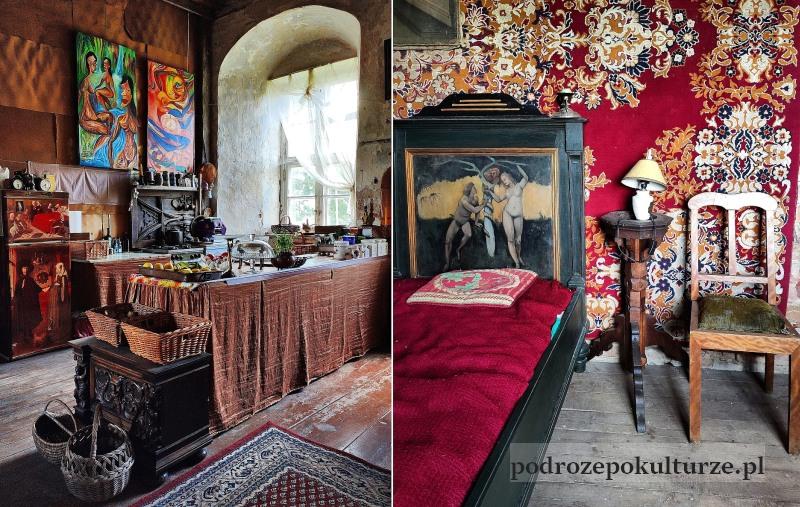 Wnętrze zamku krzyżackiego Morąg
