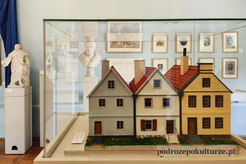 Muzum Morąg model domu rodzinnego J.G. Herdera