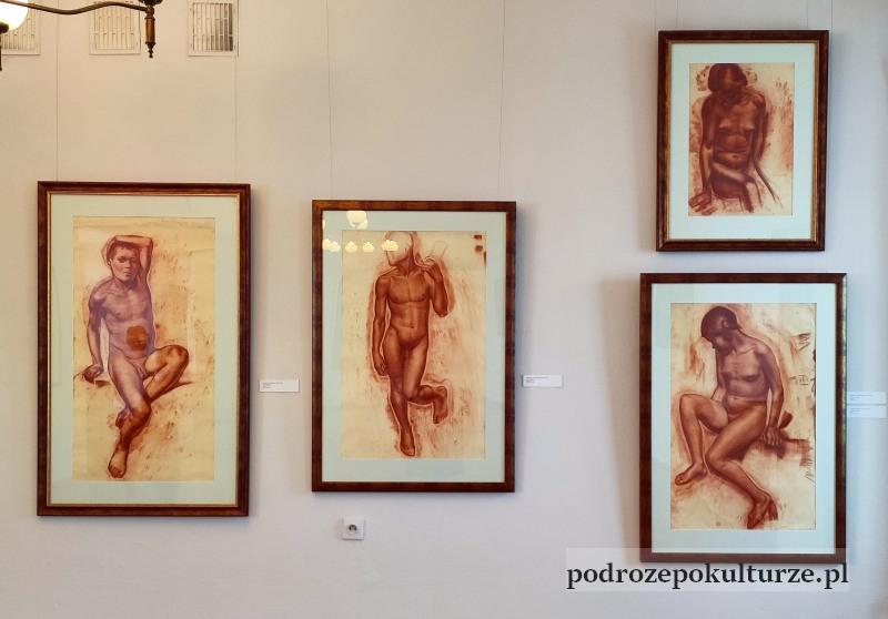 Muzeum w Morągu artyści kręgu szkoły wileńskiej