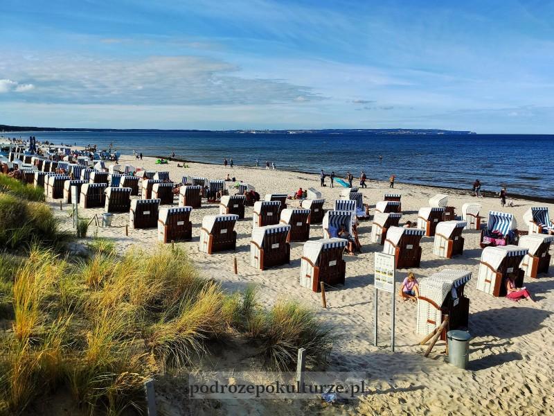 kosze plażowe na Rugii