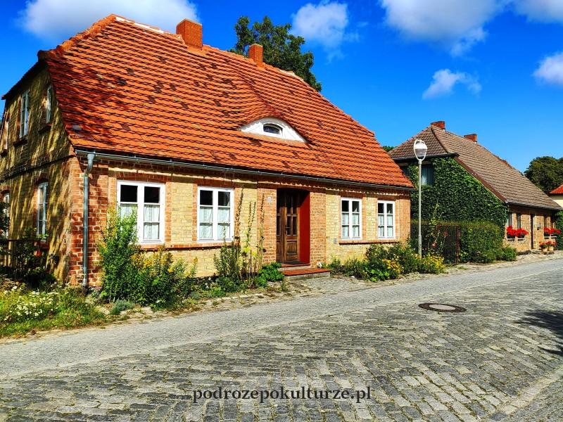 dom w Putgarten na Rugii