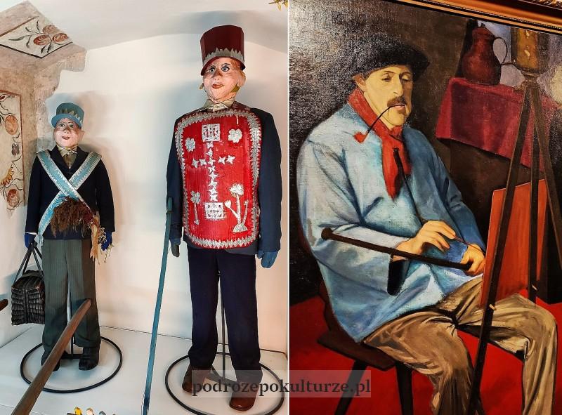 Muzeum w Bochni im. prof. Stanisława Fischera portret Tadeusza Makowskiego