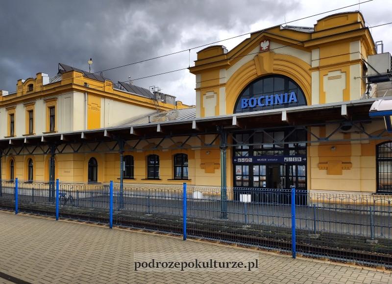 dworzec kolejowy Bochnia