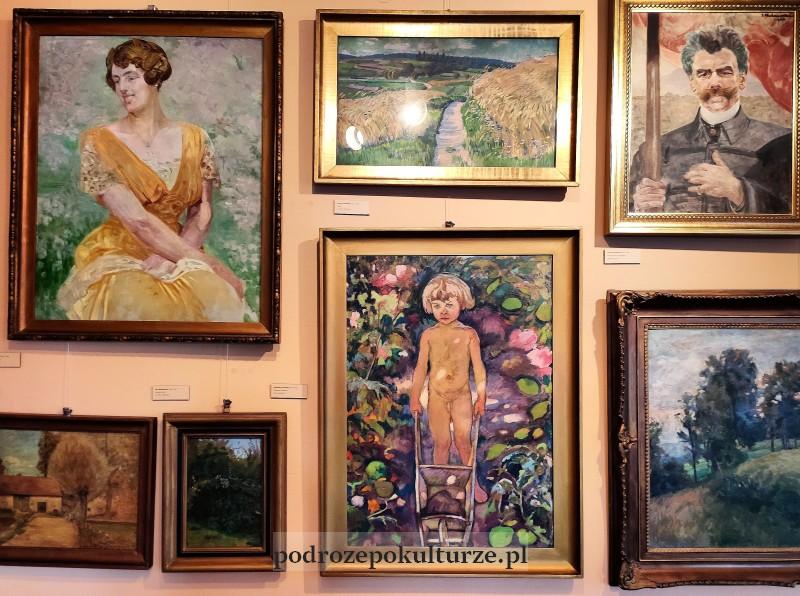 Muzeum w Bochni im. prof. Stanisława Fischera malarstwo polskie XIX XX wiek