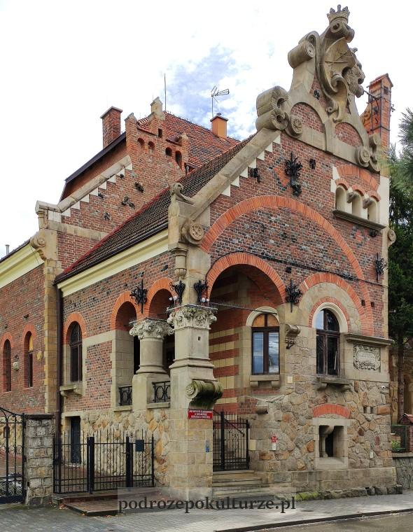 Willa pod Kozłem w Bochni. Koci Zamek. Teodor Talowski
