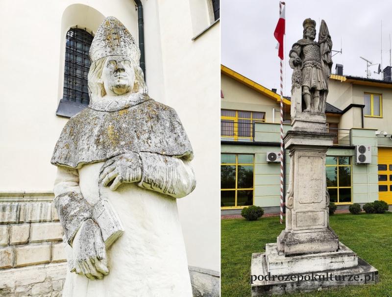 Kamień pińczowski rzeźby Pińczów