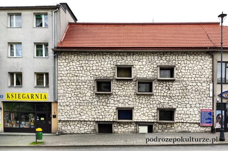 Pińczów. Dom z kamienia pińczowskiego