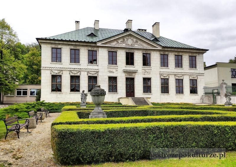Pińczów pałac Wielopolskich