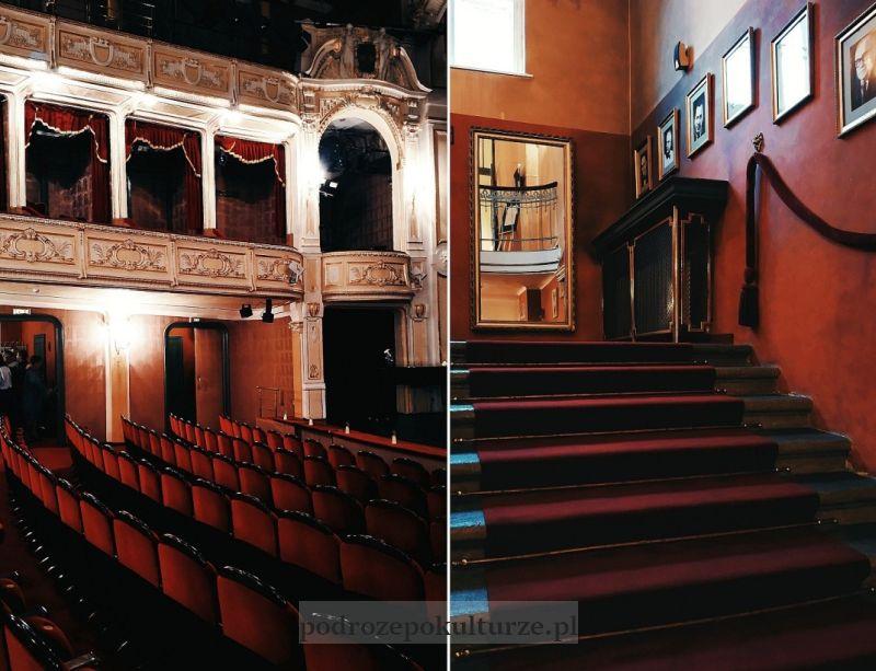 wnętrze Teatru Polskiego w Bielsku-Białej
