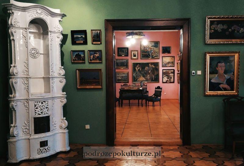 Wnętrze zamku Sułkowskich Bielsko Biała
