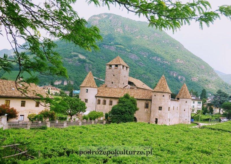 Zamek w Bolzano Bozen