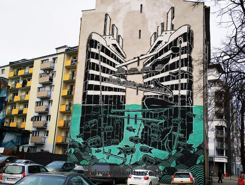 mural M-City Gdynia