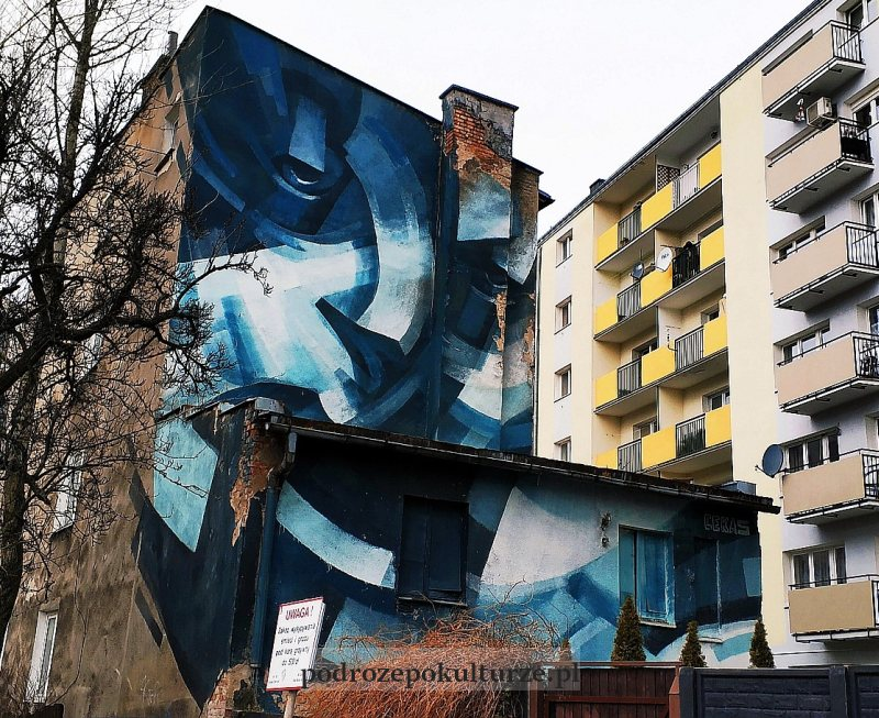 Cekas mural w Gdyni