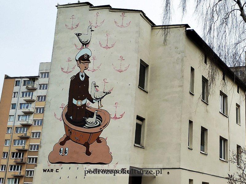 mural War-C Gdynia