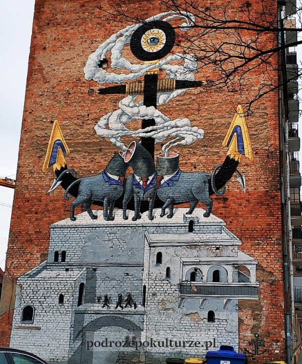 Mural Kislow w Gdyni