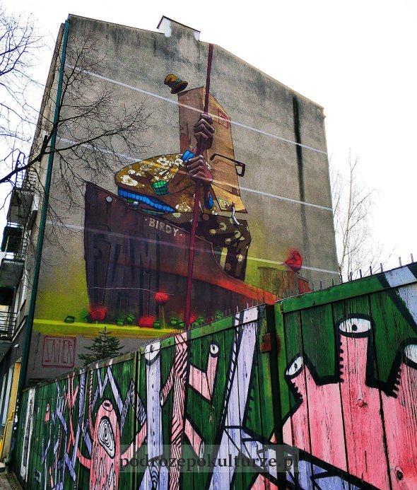 mural Sainer Gdynia