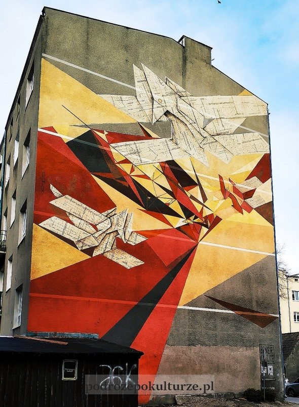 Pener + Chazme mural w Gdyni
