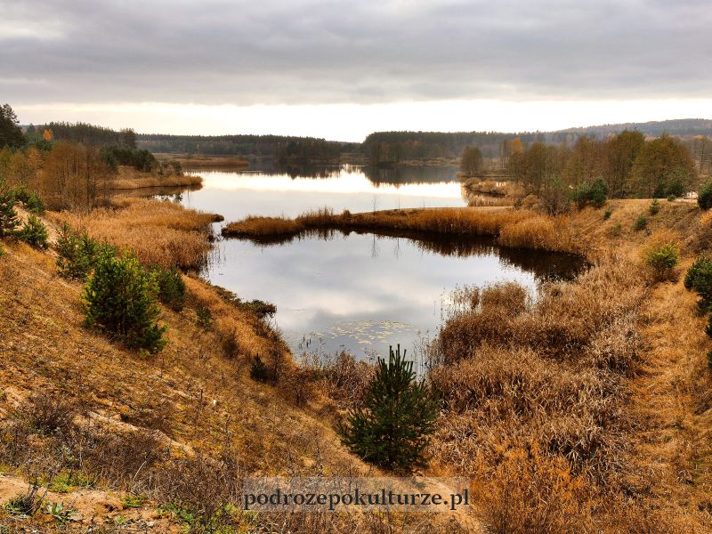 Jezioro Nielbark atrakcje okolic Kurzętnika