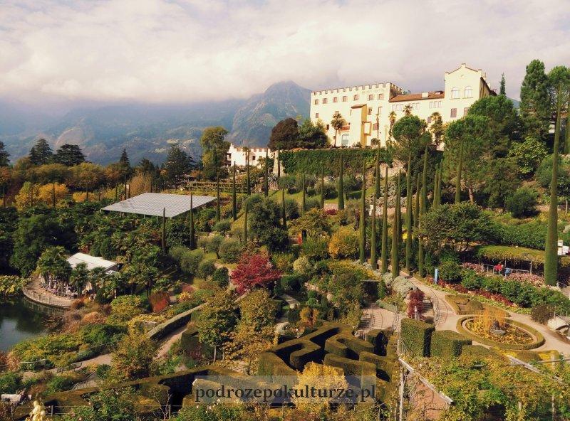 Ogród botaniczny i zamek cesarzowej Sissi Trauttmansdorff