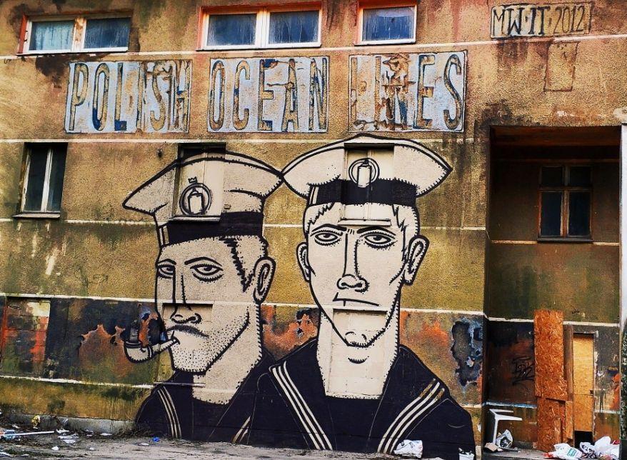 Gdynia też ma murale! | Po śródmieściu szlakiem street artu [DUŻO ZDJĘĆ]