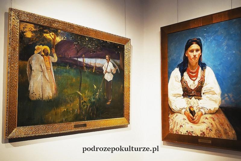 Rydlówka wnętrze dworku. Portret Jadwigii Mikołajczykówny. Nieznany Kraków