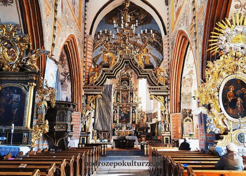 bazylika pw. św. Tomasza Apostoła wnętrze