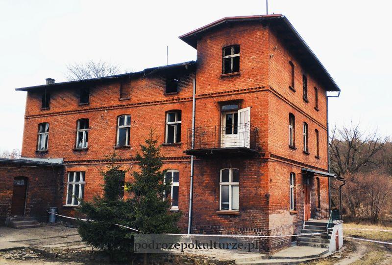 Dawne sanatorium Marienbad w Nowym Mieście Lubawskim