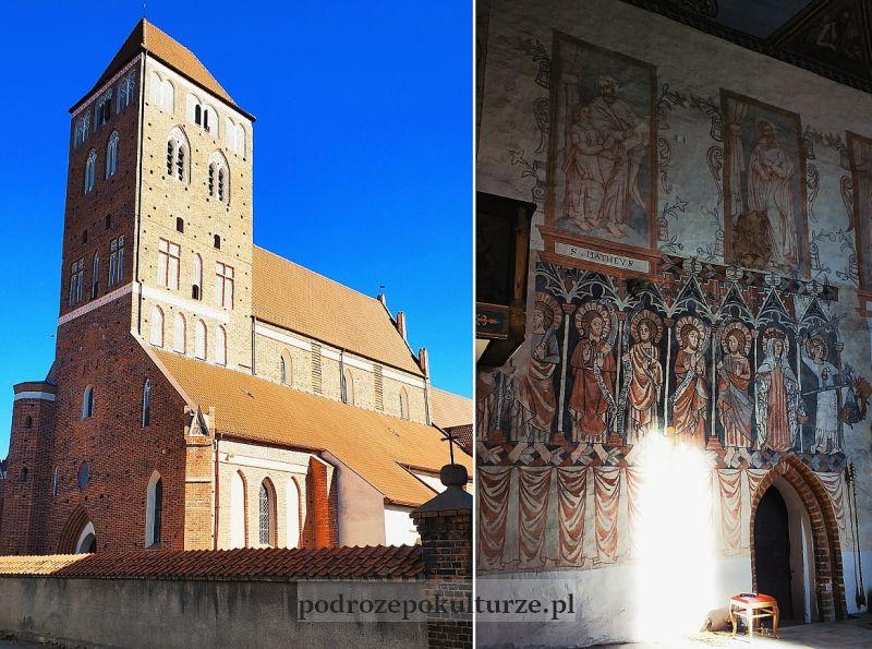 bazylika pw. św. Tomasza Apostoła gotyckie polichromie