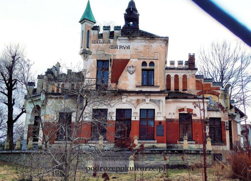 Nowy Sącz willa Marya wazbytkowa architektura