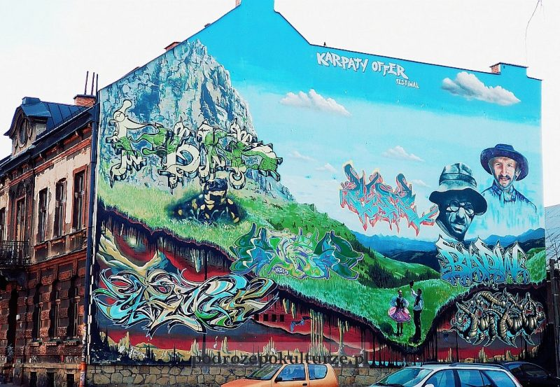 murale Nowy Sącz