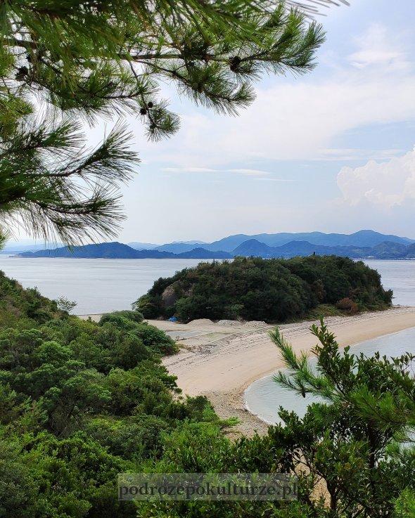 Okunoshima Morze Wewnętrzne Japonia