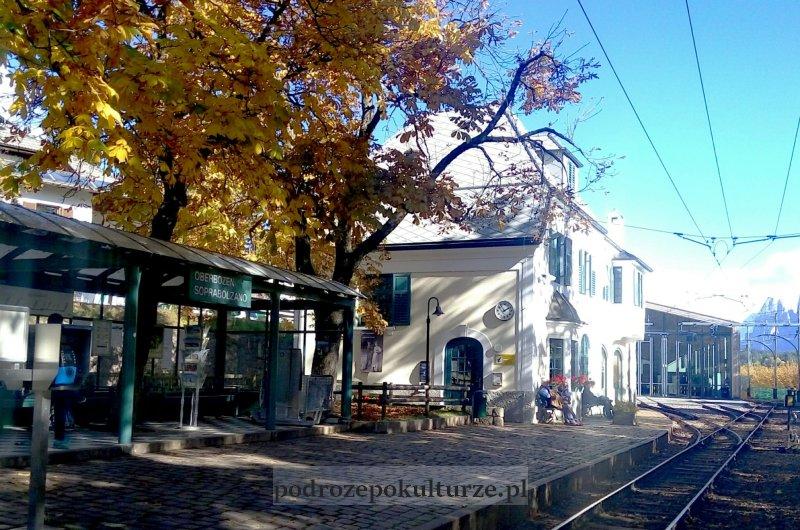 Stacja kolejki wąskotorowej Soprabolzano