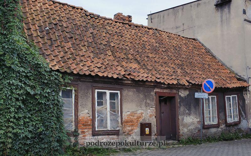 stary dom na starym mieście w Brodnicy