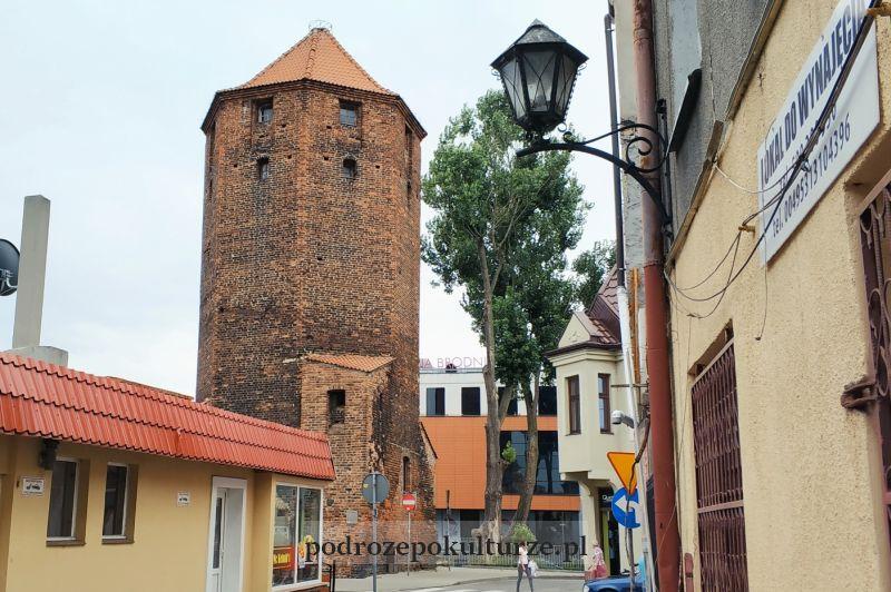 Zabytki Brodnicy - wieża mazurska