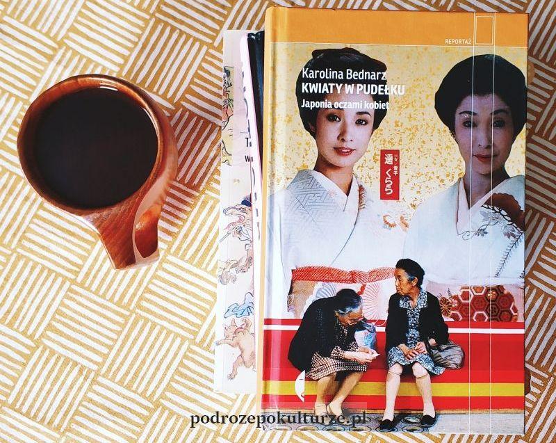 książki o Japonii: Kwiaty w pudełku Karolina Bednarz