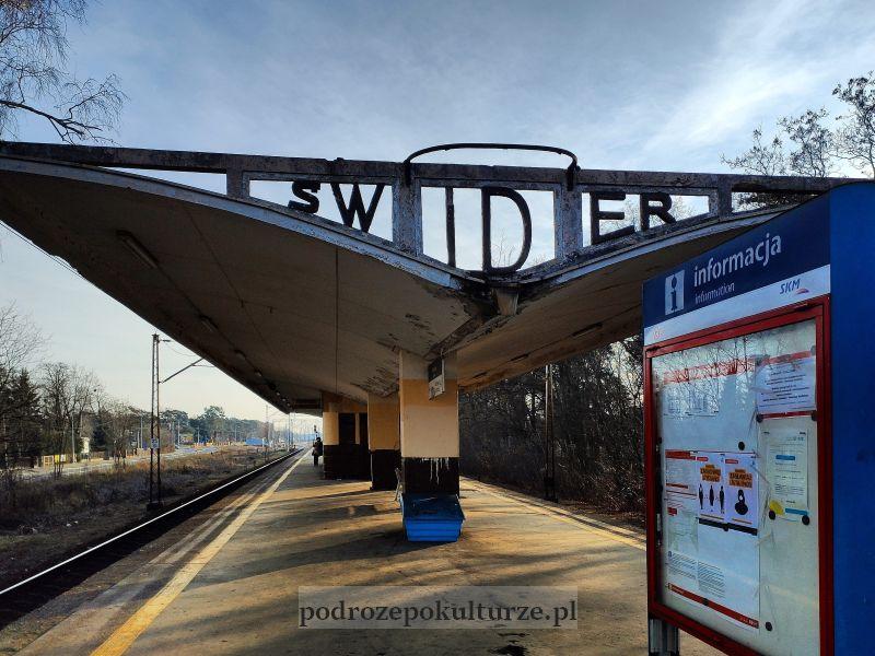stacja kolejowa Świder